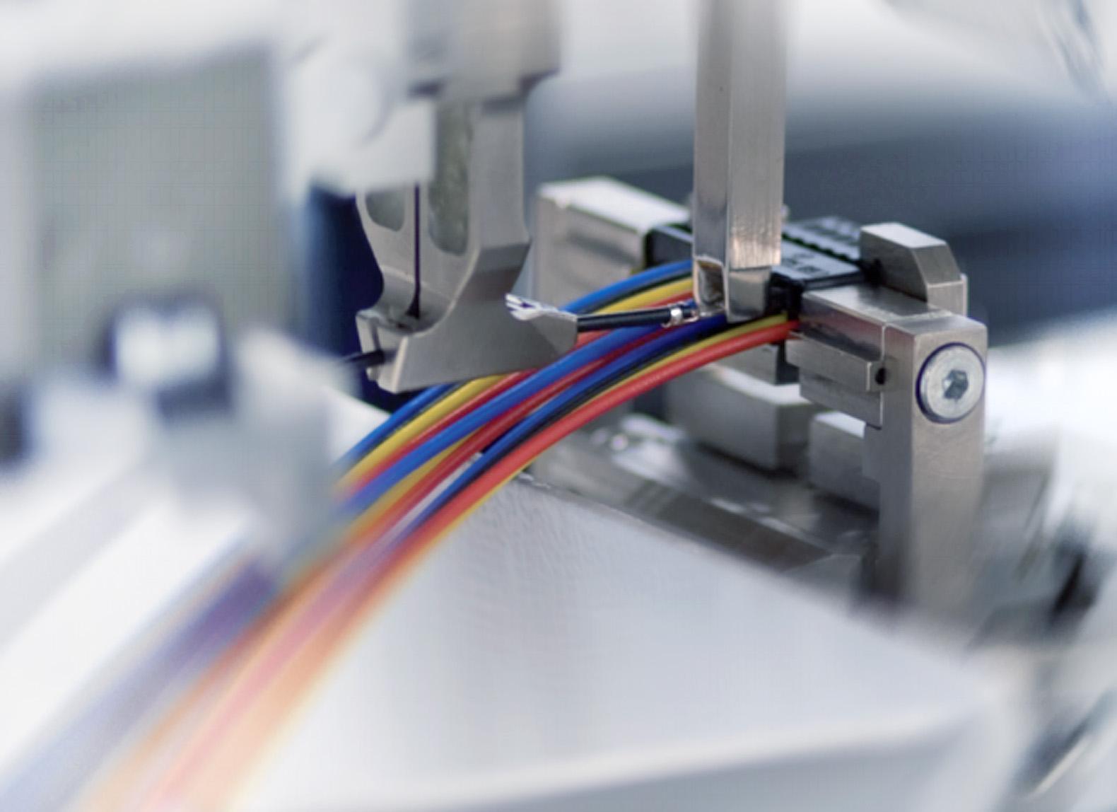 Автоматическая обработка провода